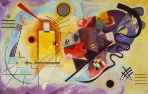 Kandinsky - Giallo rosso blu