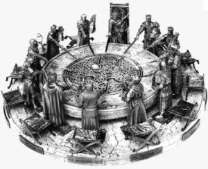Re art i cavaleri della tavola rotonda 1 di 3 appunti di vita - La tavola rotonda di re artu ...