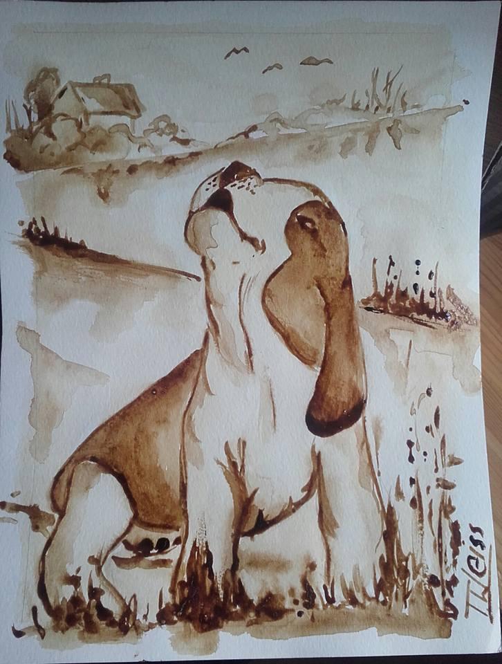 Desiderio, dipinto di Tomasz Weiss