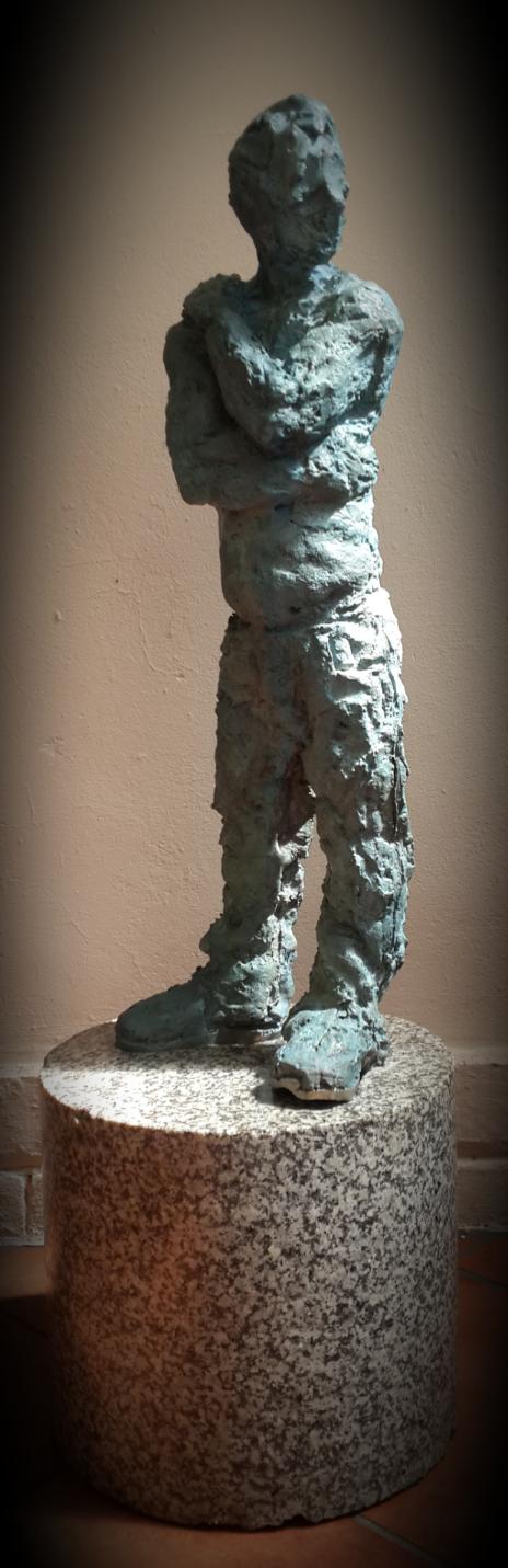 Timid, scultura di Jacques Müller