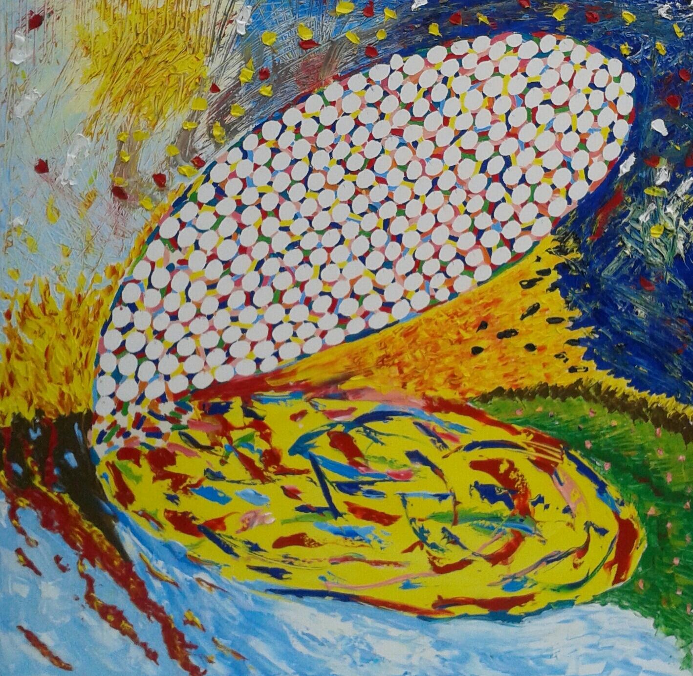 Echoes, dipinto di Cinzia Orabona