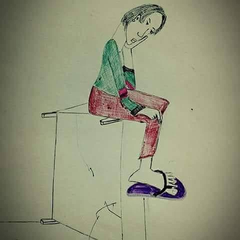 Pensiero, disegni di Baba Kailash