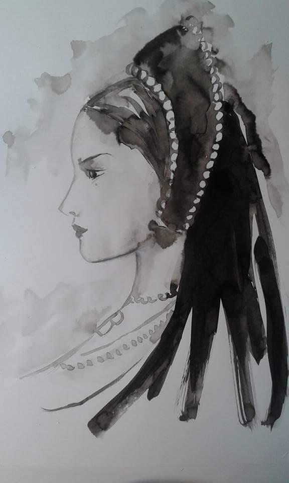 Anna Bolena, illustrazione di Silvia Dotti