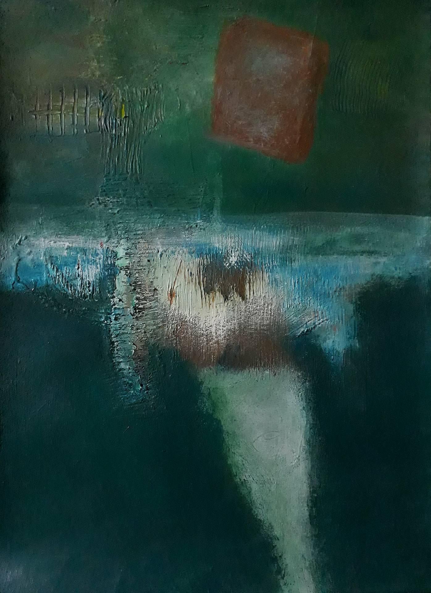 Elegy, dipinto di Somnath Basuthakur