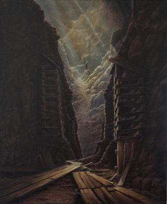 Parallel Universe, dipinto di Vorden