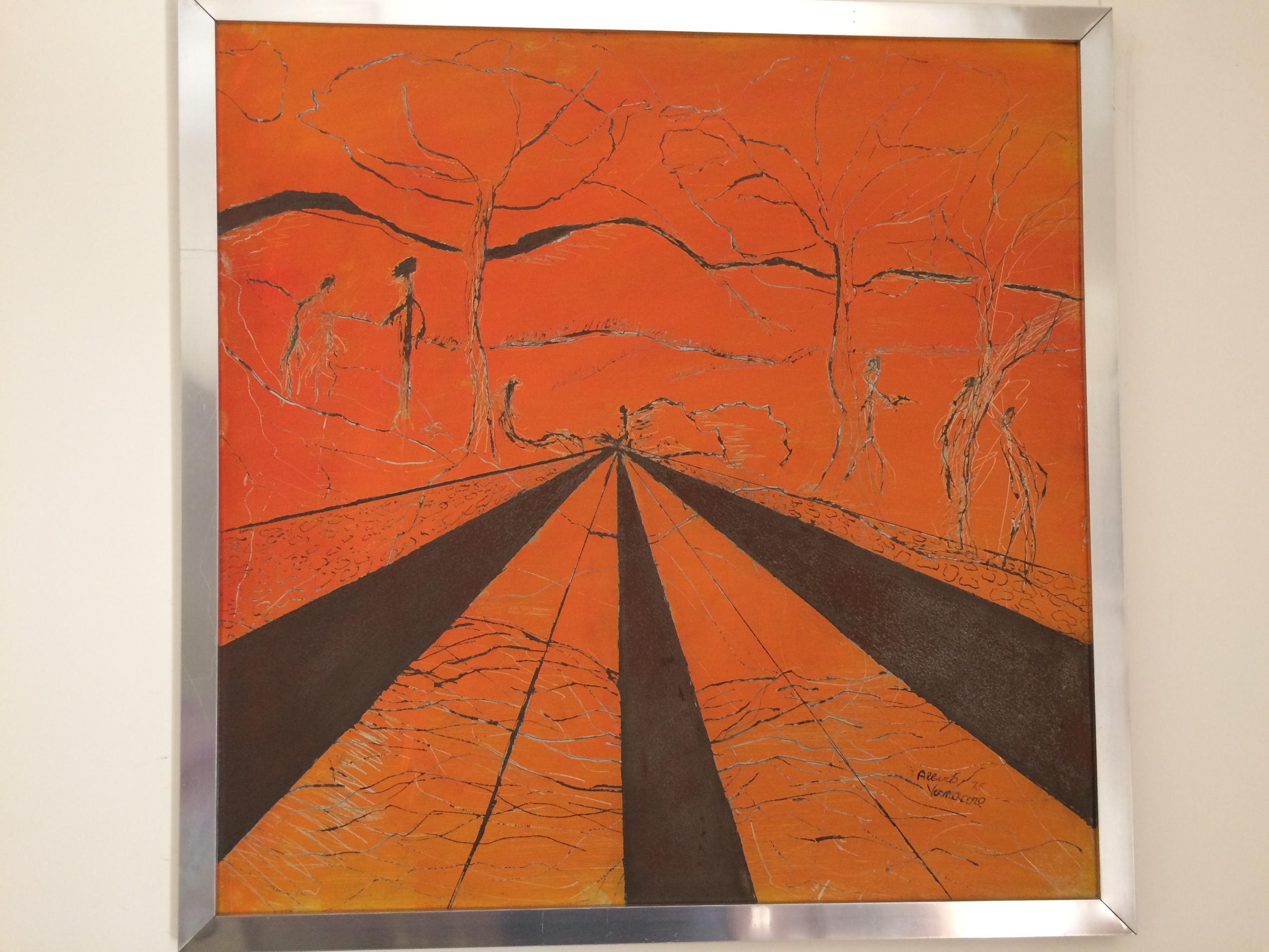 Prospettive, dipinto di Alberto Vanacore