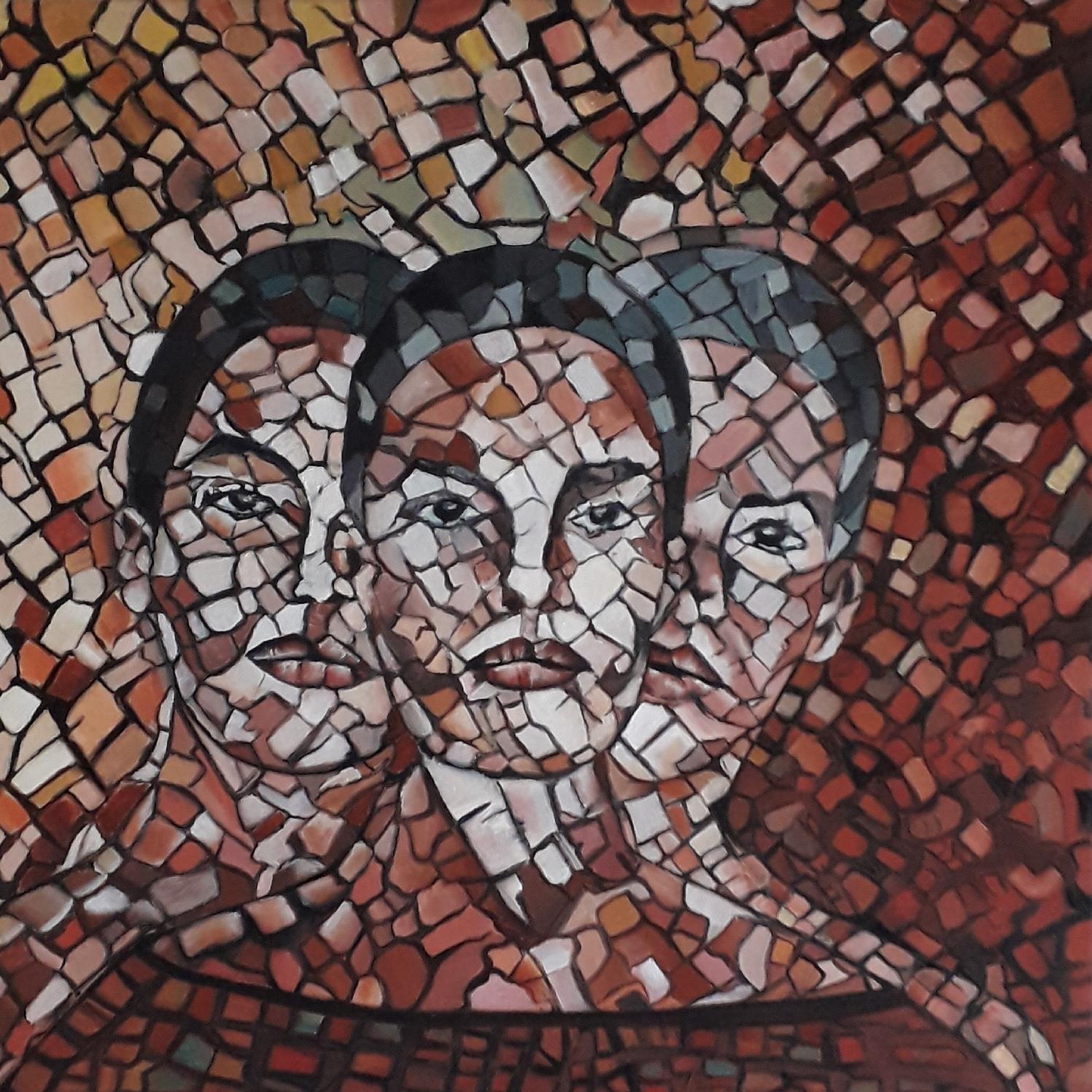 La coscienza, dipinto di Rosanna Romano / Roro