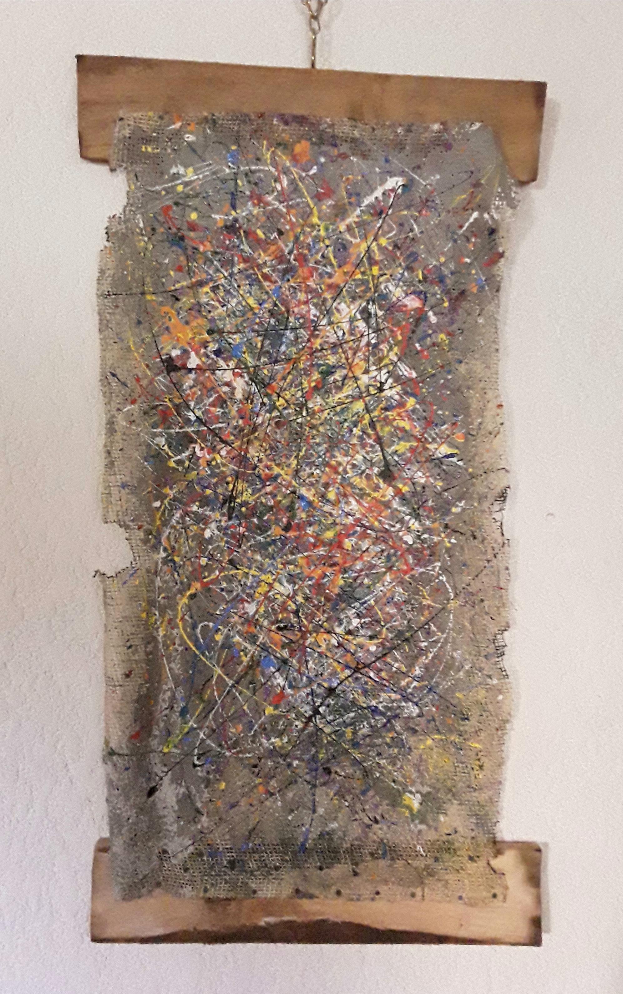 Arcobaleno, dipinto di Ornella Ogliari