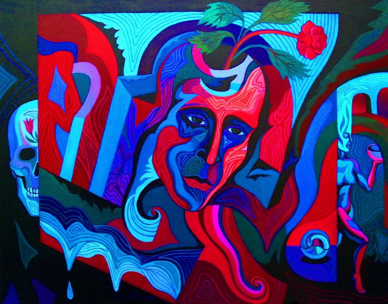 Transformation, dipinto di Nina Tokhtaman Valetova