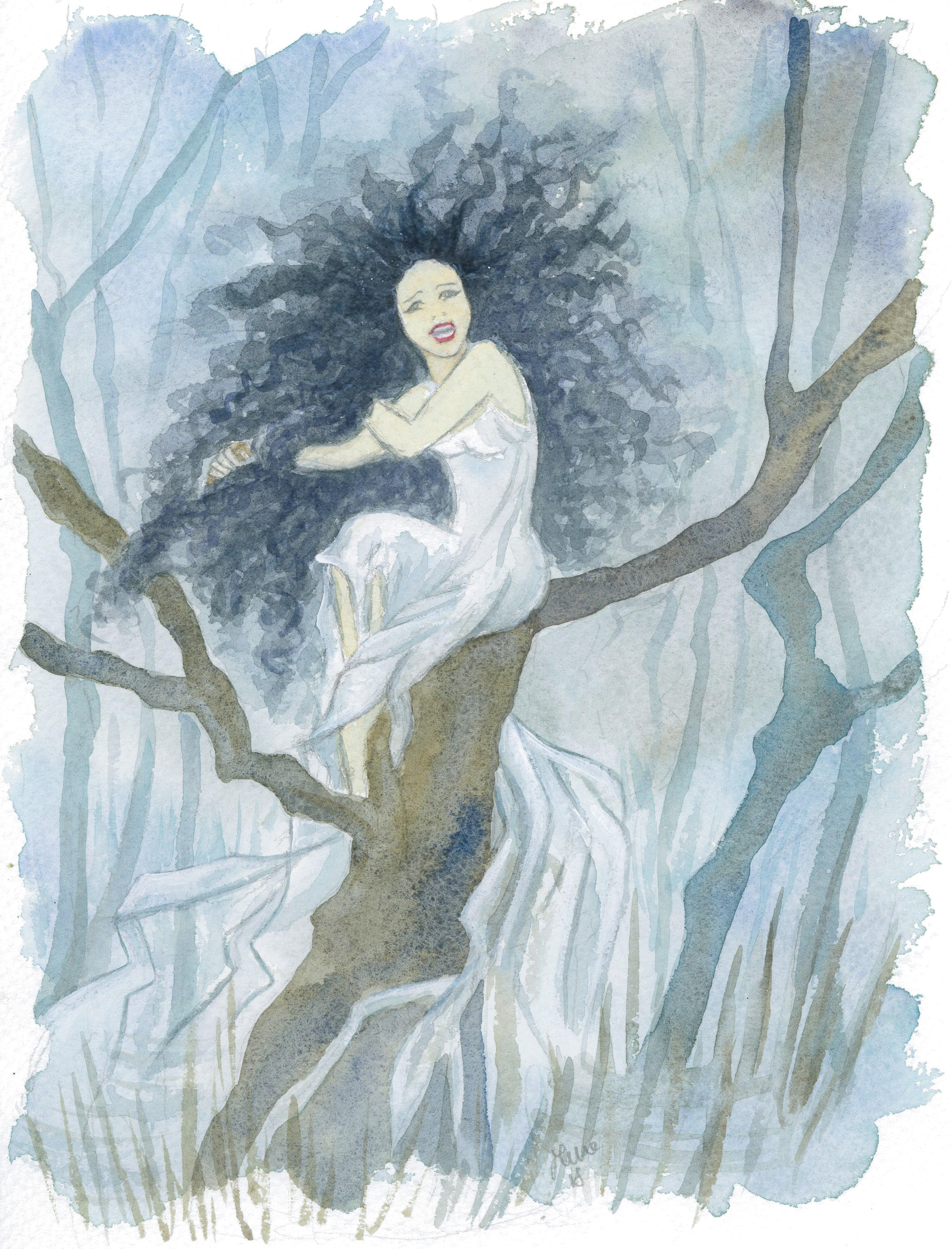 Banshee, dipinto di Silvia Dotti
