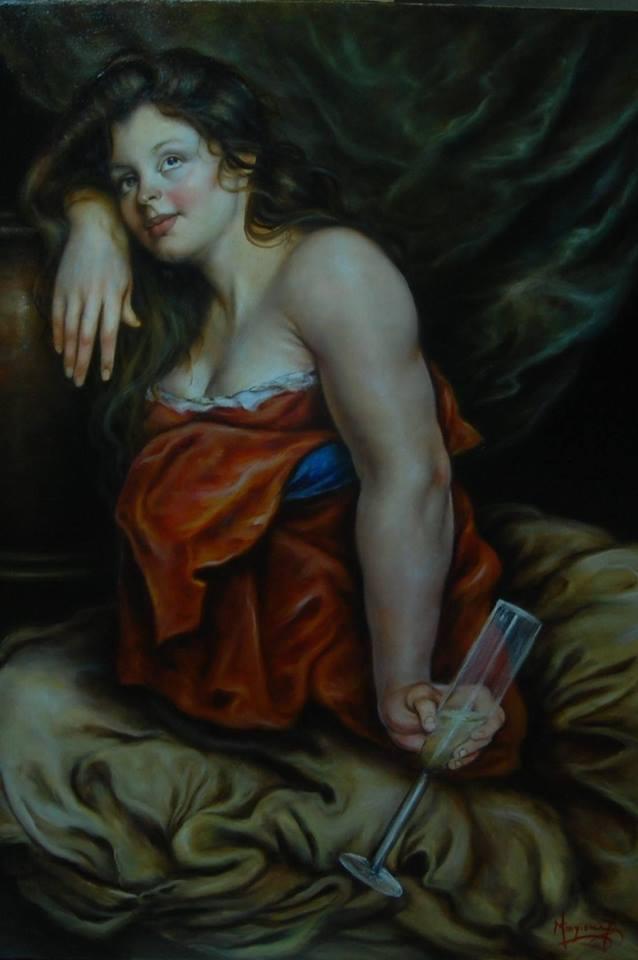 Ebbrezza sognante, dipinto di Domenico Mingione