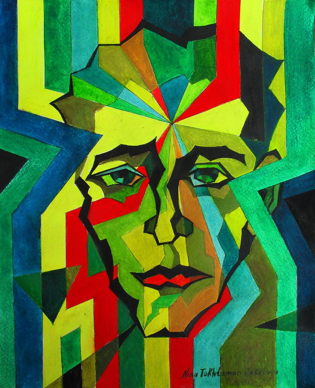 Insight, dipinto di Nina Tokhtaman Valetova
