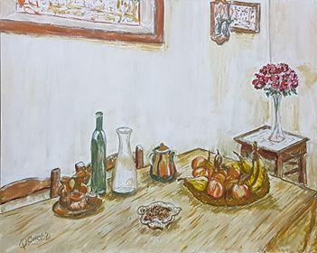 Natura morta (2), dipinto di Donatella Curcio