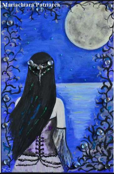 Clair de Lune, dipinto di Mariachiara Patriarca