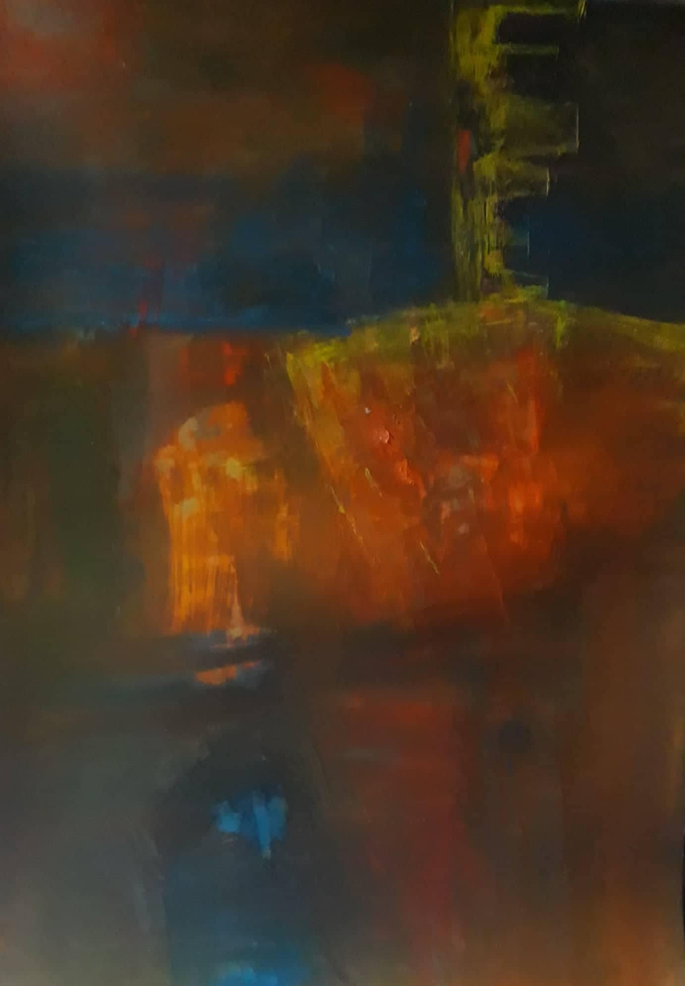 Lust, dipinto di Somnath Basuthakur